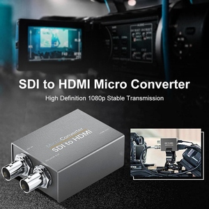 SDI к HDMI с питанием мини HD SD-SDI видео микро-конвертер адаптер с аудио Авто форматом обнаружения для камеры Us Plug
