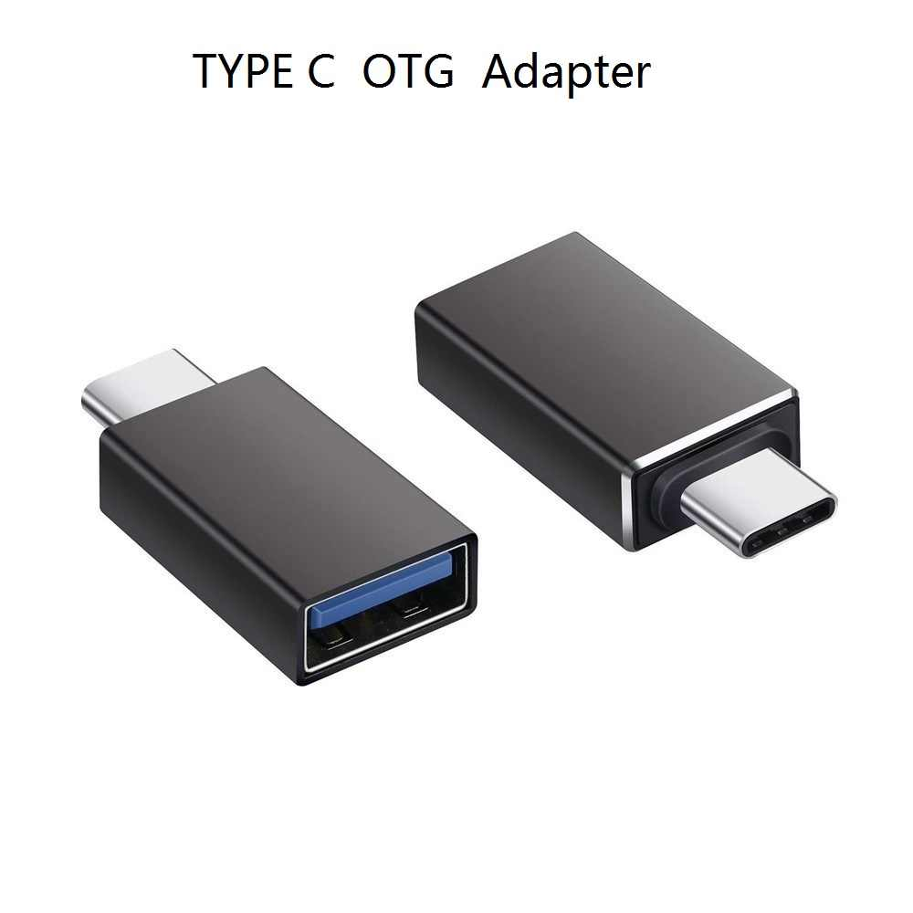 Thunderbolt 3 Type C Adapter Naar Usb 3.0 Otg Converter Aluminium Macbook Pro 2017 Samsung Note 8 S8 Google pixel 2 Xl