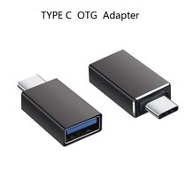 Thunderbolt 3 Type C Adapter to USB 3.0 OTG Converter Aluminum for MacBook Pro 2017 Samsung Note 8 S8 Google Pixel 2 XL(China)