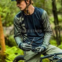 Motocross racing bike jerseys roupas de secagem rápida da motocicleta mtb 3/4 manga mountain bike downhill dh manga longa ciclismo jerseys