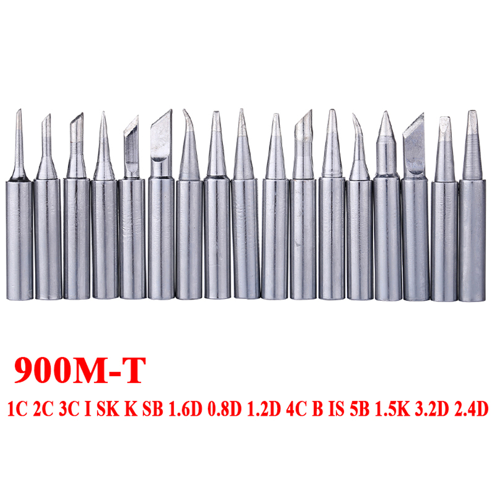 900M-T Electric Soldering Iron Tip Metal Welding Solder Tips For Hakko 936 Soldering Rework Station