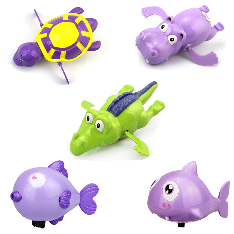 New Baby Bath Toys Finding Nemo Squeeze Debbling Toys Kids Float Water Tub Rubber Clown Fish Duck Bathroom Play Animals  Spray