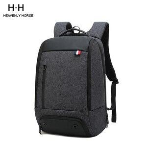 Image 1 - Противоугонный мужской рюкзак Mochila для деловых поездок 15,6 дюймовый рюкзак для ноутбука для женщин и мужчин водостойкий школьный рюкзак для компьютера