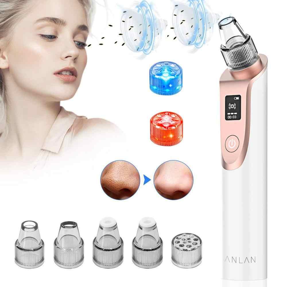 ANLAN Siyah Nokta Remover Cilt Bakımı Yüz Dermabrazyon Makinesi Gözenek Vakum Akne Sivilce Kaldırma Vakum Emme Yüz Temizleme Aracı