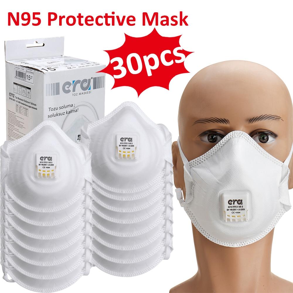 Face Mouth Mask FFP3 FFP2 FFP1 Masks N95 Mask With Valve Filter Anti Pollution Dustproof Flu Hygiene Face Mask