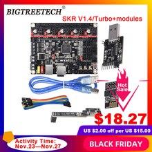 BIGTREETECH BTT SKR V1.4 SKR V1.4 Turbo Điều Khiển Ban 32 Bit WIFI Nhà Văn DCDC 3D Máy In Phần VS SKR V1.3 TMC2209 TMC2208