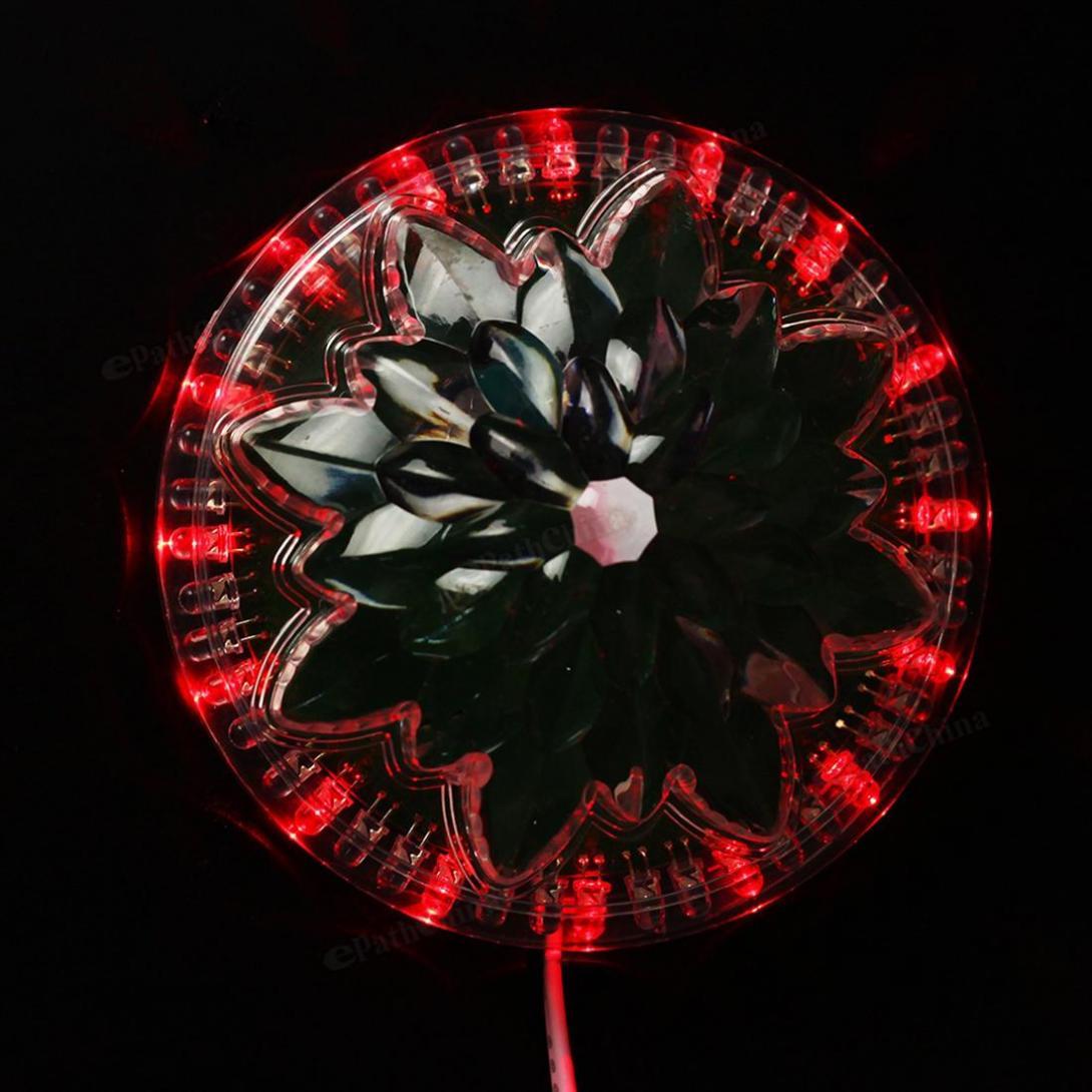 led rgb efeito de luz 8w iluminacao girassol automatico 05