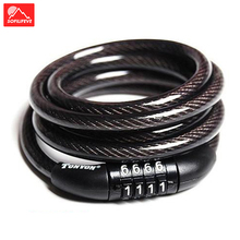 Anti Theft Code Bike Lock Password 100cm MTB Road Bike Locker Bicycle Code Lock Safety Bicycle Cable Lock Cycling Accessories rockbros bike bicycle 5 letters code lock combination coiled bike steel cable lock cycling password lock bicycle accessories