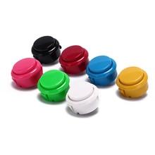 10pcs Arcade Copy Sanwa Button Games Buttons Replace Parts Of 7 Colors Games Parts Accessories