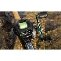 LINNHUE Best Baitcasting Reel BS2000 8.1:1High Speed Fishing Reel 8KG Max Drag Reinforced Reel Drag Reel Carp Drag Reel Fishing