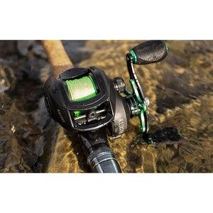 Image 5 - LINNHUE Best Baitcasting Reel BS2000 8.1:1High Speed Fishing Reel 8KG Max Drag Reinforced Reel Drag Reel Carp Drag Reel Fishing
