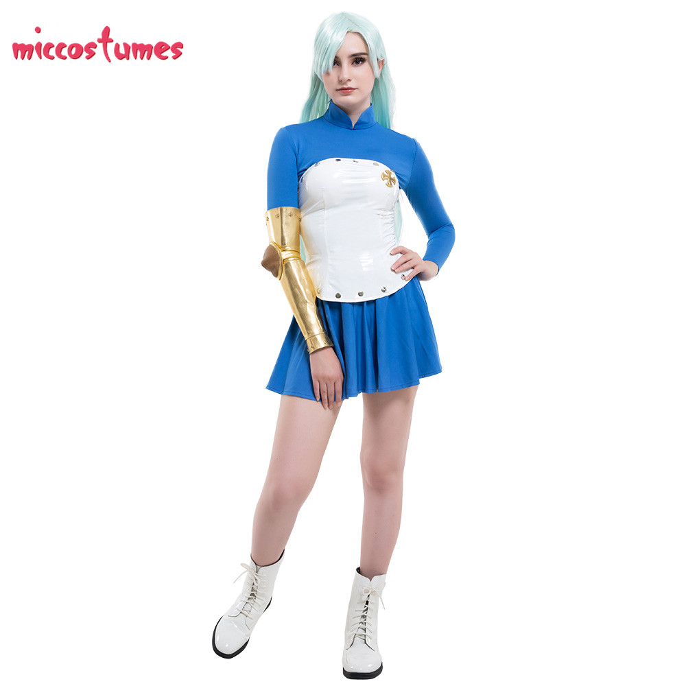 Elizabeth Costume The Seven Deadly Sins Cosplay Season 2  Liones Dress