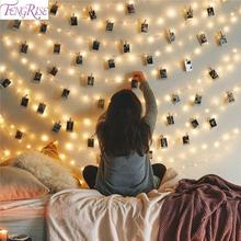 2M/5M/10M Photo Clip LED String Light Battery Operated Garland Ornament Christmas Decor For Home 2019 Noel Navidad New Year 2020