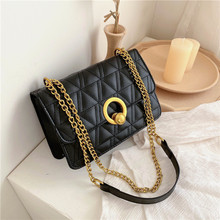 High Grade Sense Bag WOMEN'S 2020 Fashion Korean-style Versatile Shoulder Chain Western Style Square Sling