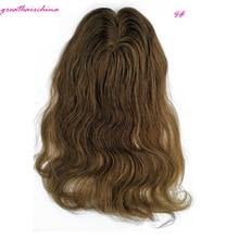 1 шт., 5X6 дюймов, европейские волосы на застежке, прямые человеческие волосы на шнуровке с кружевом и полиуретановыми накладными волосами remy, различные цвета на выбор