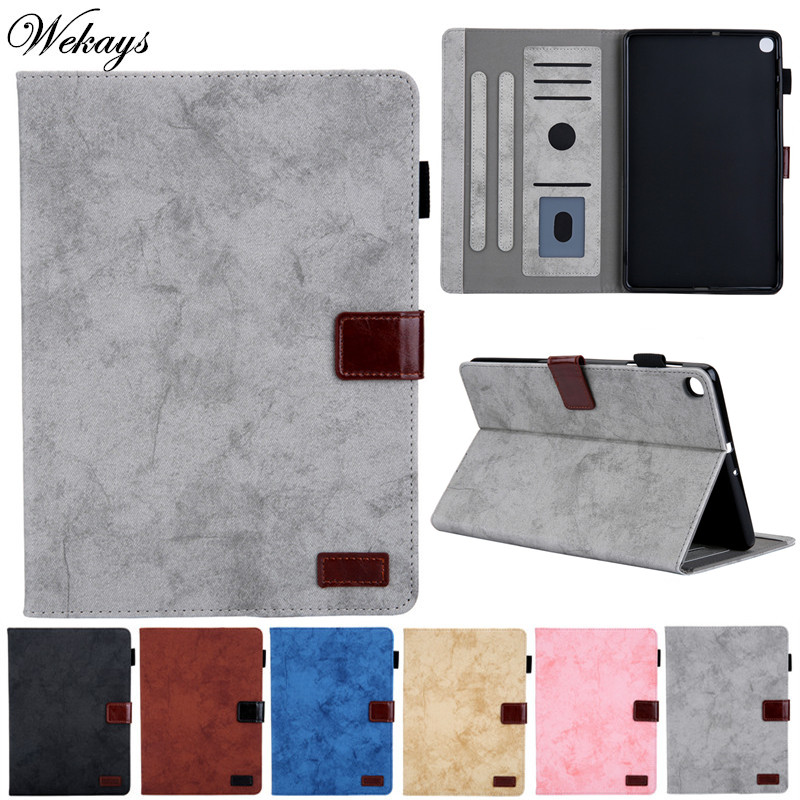 Cover Coque For Samsung Tab A 10.1 2019 Bussiness Leather <font><b>Case</b></font> For Samsung Galaxy Tab A 10.1 inch 2019 <font><b>T510</b></font> T515 Cover <font><b>Case</b></font> Etui image