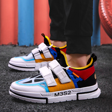 Brand High quality Mens leather casual shoes Fashion Breathable Sneakers fashion flats Zapatillas Hombre