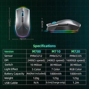 Image 5 - Machenike M7 무선 마우스 게이밍 마우스 게이머 16000 인치 당 점 RGB 프로그래밍 가능 충전식 PMW3212 PMW3335 컴퓨터 마우스