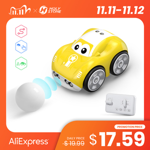 DEERC RC 1/10 Car Mini Remote Control Car For Kids Toy Cars With Auto Follow Obstacle Avoidance Follow Custom Tracks Functions