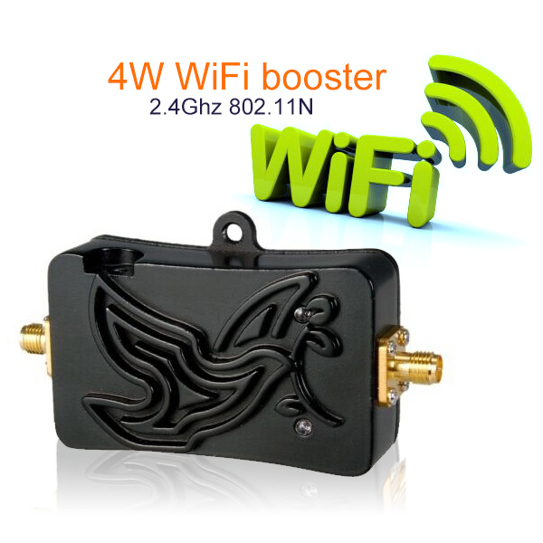 2pcs 4W High Gain 5dBi Antenna Bluetooth Wi Fi Signal Booster Amplifier For 2.4 Ghz For Wireless Router 802.11 B/g/n Card