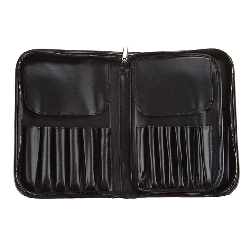 JHD-29 Pockets Makeup Artist Bags Zipper Holder Case For Men Women Cosmetic Case