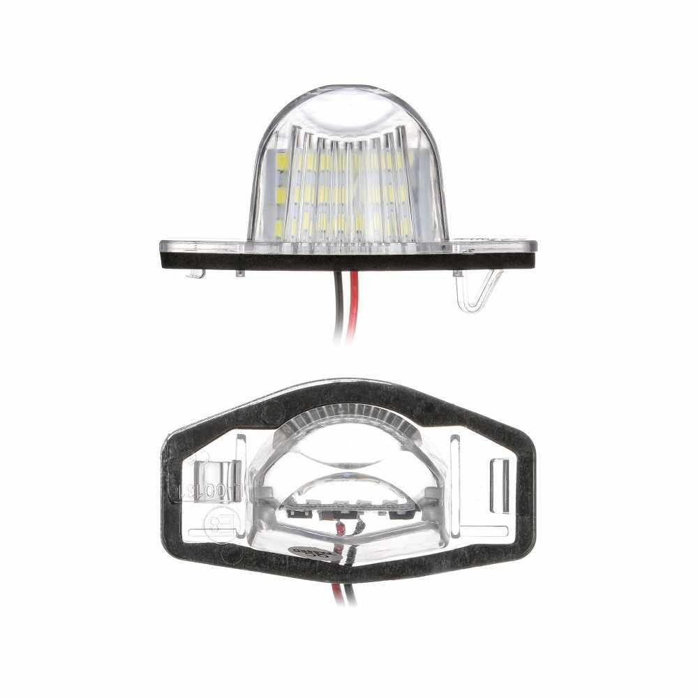2 قطعة/المجموعة 18 LED مصباح عدد ترخيص لوحة مصباح سيارة هوندا صالح الجاز أوديسي تيار انسايت CRV FRV HR-V كروس تور 5D DXY