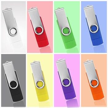 USB stick OTG USB Flash Drive 4gb 8gb 16gb 32gb 64gb 128gb memory stick pen drive Personalized gift pendrive Micro cle usb2.0 unique usb 2 0 micro usb otg flash drive black 8gb