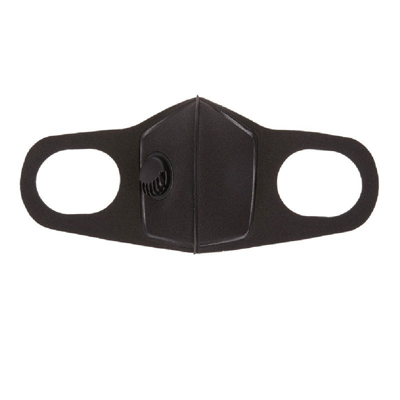 Unisex Sponge Dustproof PM2.5 Pollution Half Face Mouth Mask With Breath Wide Straps Washable Reusable Muffle Respirator 2