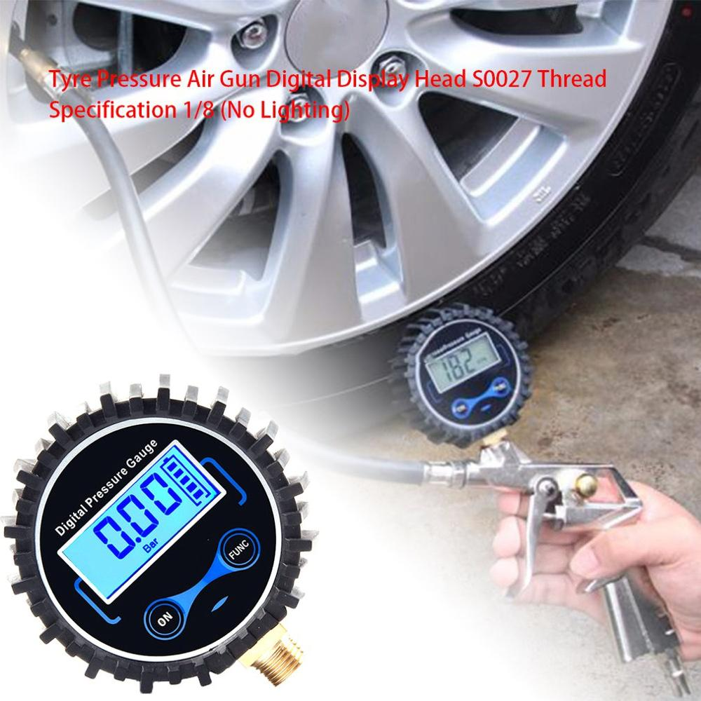 Thread Size Tire Pressure Air Tool Digital Display Head Tire Inflation Tool Digital Tire Pressure Instrument|Tire Pressure Monitor Systems| |  - title=