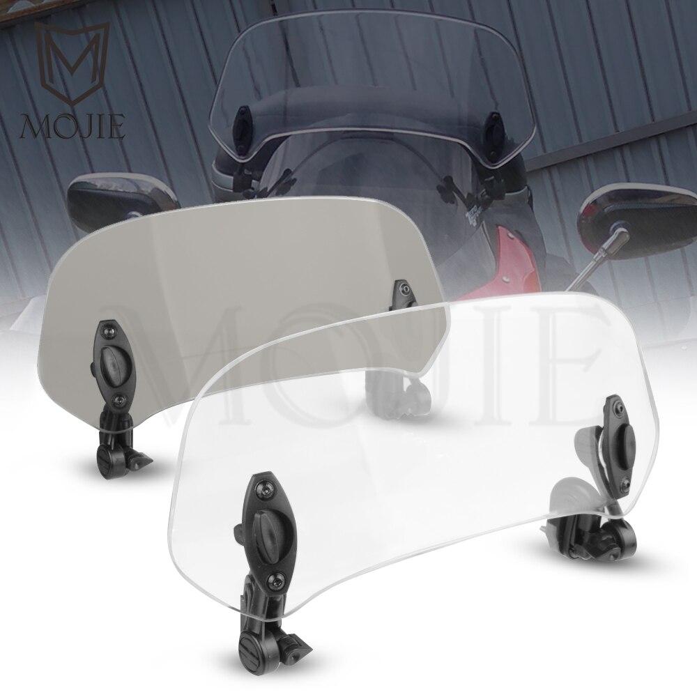 Motorcycle Windshield Extension Spoiler Windscreen Air Deflector For YAMAHA TDM 850 900 TDR250 XT1200Z/ZE XT660Z Super Tenere