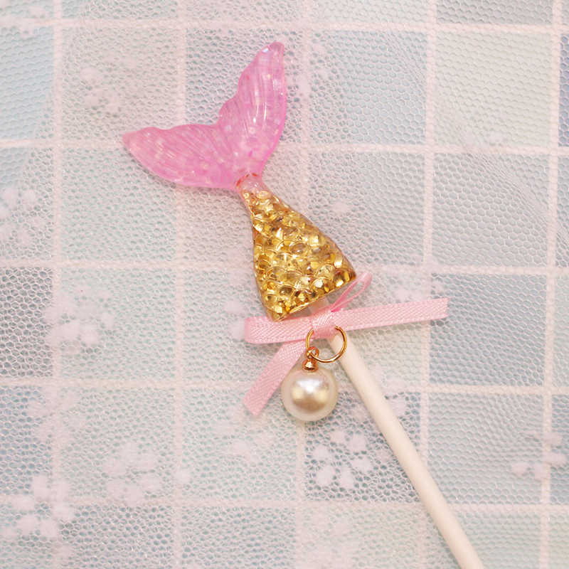 Kawaiiเปลือกเด็กทารกCupcake Topperน้ำแข็งครีมเด็กเค้กวันเกิดแฮปปี้Topper Mermaid PARTY Supplies Beautyเค้กตกแต่ง