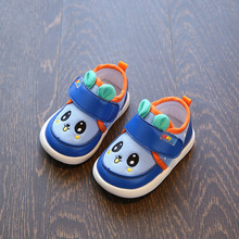 CYSINCOS/Обувь для маленьких детей; сезон весна; милая обувь для первых шагов с героями мультфильмов для мальчиков и девочек; удобные тонкие туфли с мягкой подошвой