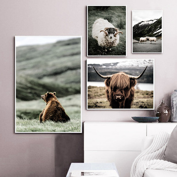 Wild Animal Wall Poster Bathroom Bedroom Departments Dining Room Entryway Living Room Rooms Wall Decor