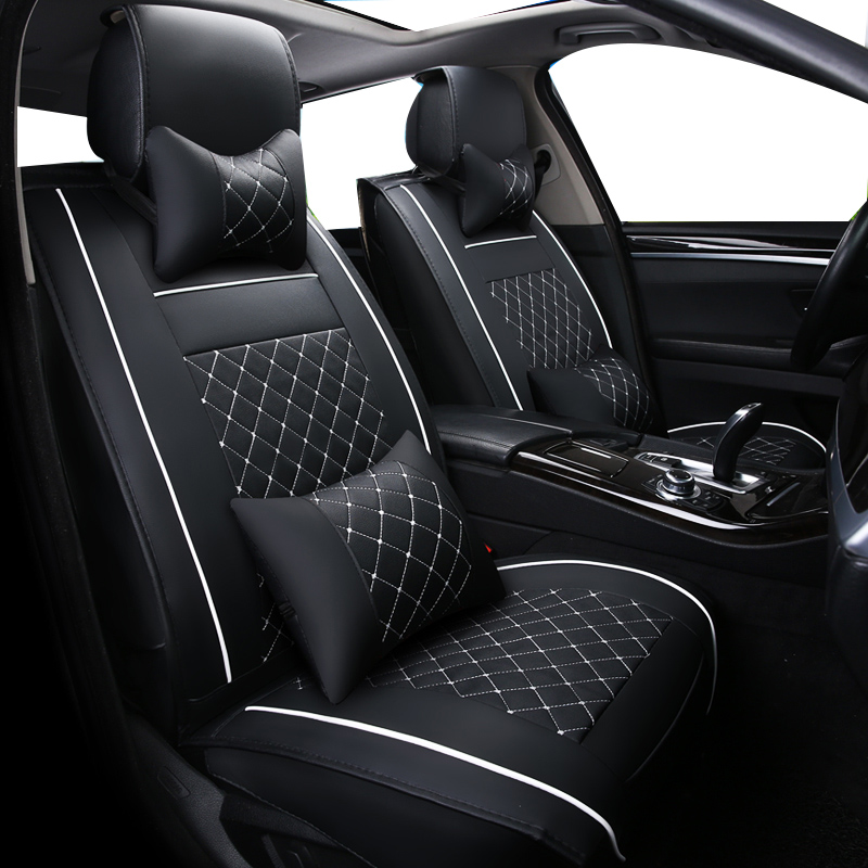Black Grey Trax Car Seat Covers Cover Set For Dacia Sandero Stepway 2014 On