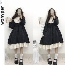 Halloween-Costume Lolita-Dress Lace Medieval Victorian Girl Soft Gothic Women for Black