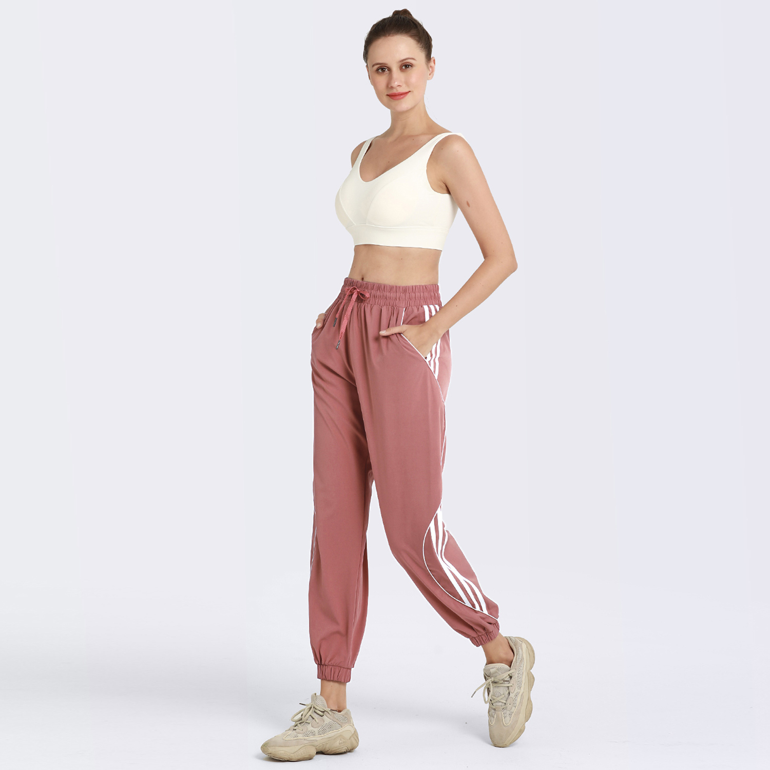 High Stretch Harem Pants for Women Womens Clothing Pants & Joggers