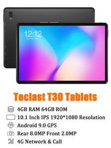Teclast Tablet Android Dual-Wifi-Cameras Octa-Core MTK P70 64GB GPS T30 BT4.1 Helio