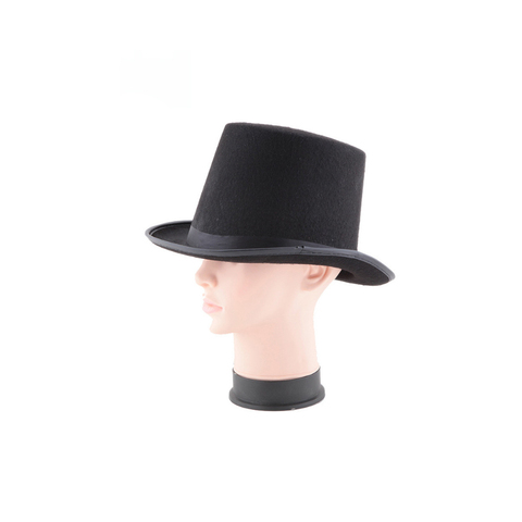 13/16cm Folding Top Hat Magic Trick Stage Prop Magicians Hat Masquerade Party Stage Accessories Lahore