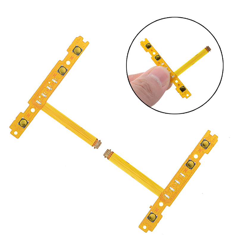 Controller Replacement Accessories Key Connector Flex Cable Left/Right For Switch For Joy-Con SL SR Button