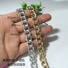 Кисточки железная цепь косая Декоративная Сумка на цепочке сумка на плечо металлическая цепь Pet цепь подвеска цепь diao pai lian DIY аксессуары