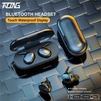 Auriculares inalámbricos Bluetooth Tws con batería larga, estéreo, HD, Bluetooth, BT5.0