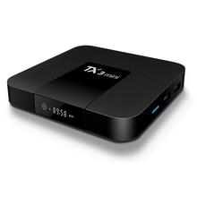 Tanix TX3 Mini Android TV Box 4K Amlogic S905W Quad Core 2GB 16GB  Internet TV Set Top Box Media Player недорого