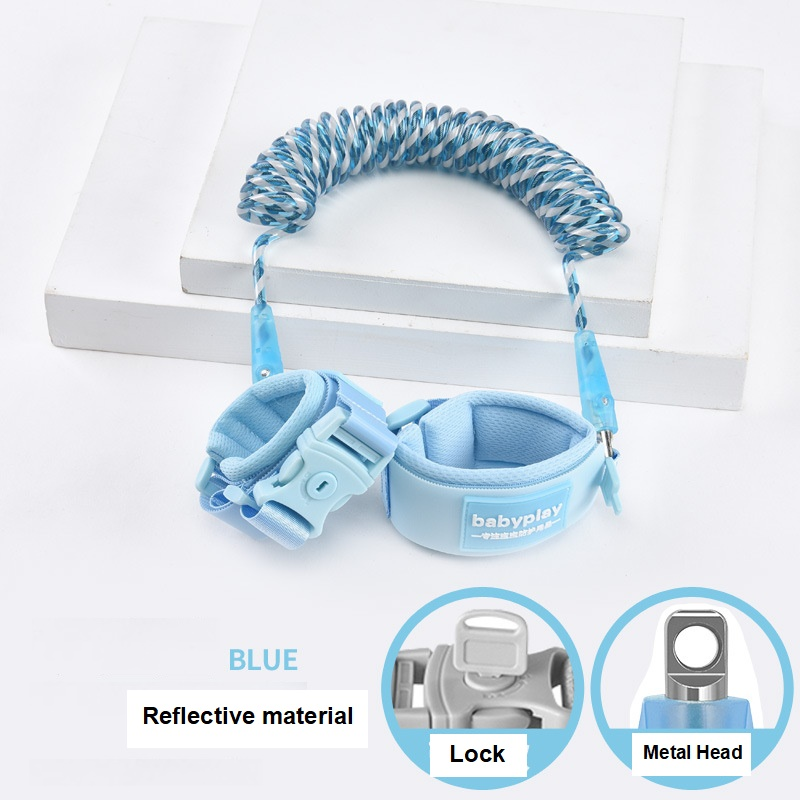 Image 3 - Baby Harness Anti Lost Wrist Link Kids Outdoor Walking Hand Belt Band Child Wristband Toddler Leash Safety Harness Strap RopeHarnesses & Leashes   -