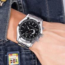 Часы наручные мужские с хронографом роскошные Брендовые спортивные
