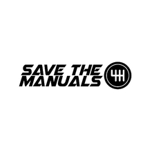 Car Sticker Fashion Save The Manuals Automobiles Motorcycles Exterior Accessories Vinyl Decal 18cm*4 4cm cheap The Whole Body Glue Sticker 0 01cm Stickers cartoon Creative Stickers Not Packaged