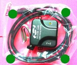 Silicon Laboratories debugowania USB Adapter C8051F palnika EC3 004 w Ochraniacze ekranu od Elektronika użytkowa na