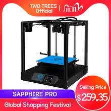 TWO TREES 3D Printer CoreXY Sapphire Pro printer BMG Extruder Corexy Guide DIY With MKS Robin Nano 3.5 Inch Touch Screen TMC2208