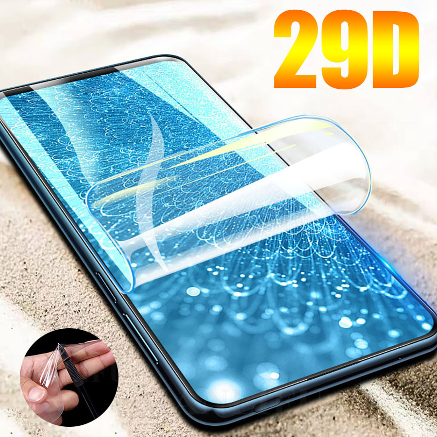 29D Screen Protector Hydrogel Film for Motorola Moto One Vision Protective Film For moto G7 G6 G5s G5 E6 E5 Plus Film Not Glass(China)