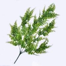 Garden Artificial Plant Wedding Decor 85cm Green Plastics Rattan Hanging Corridor Garland Home