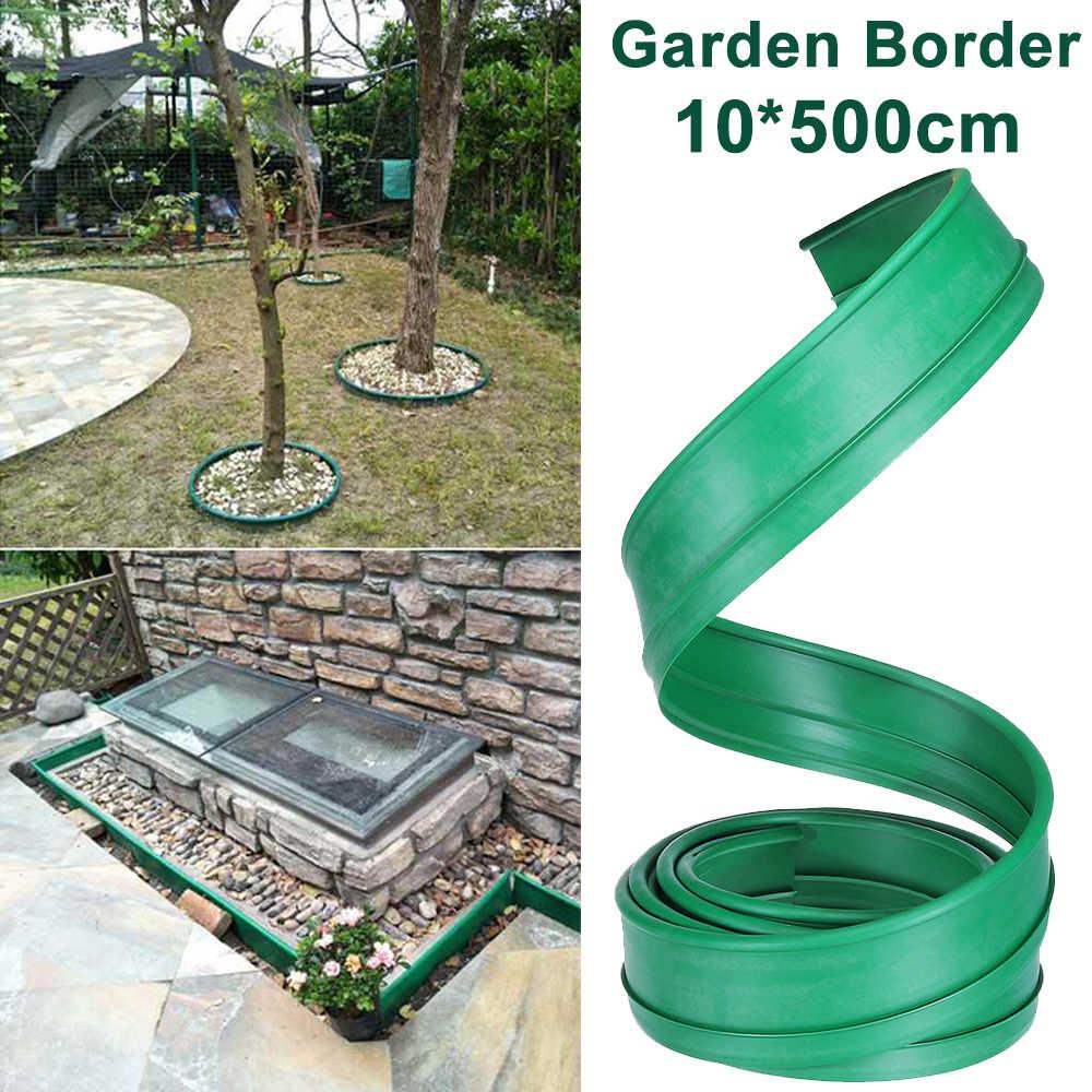 grass edging fence belt 5m pe garden